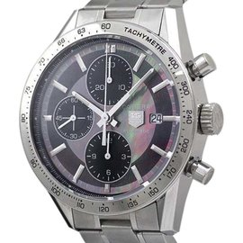 Tag Heuer Carrera CV201P Stainless Steel Automatic 41mm Mens Watch