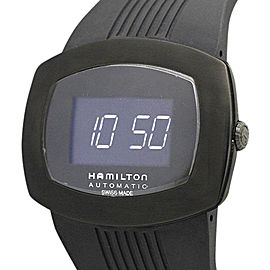 Hamilton Palsomatic H52585339 Stainless Steel & Rubber Quartz 50mm Mens Watch