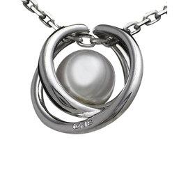 Mikimoto 18K White Gold Pearl Necklace