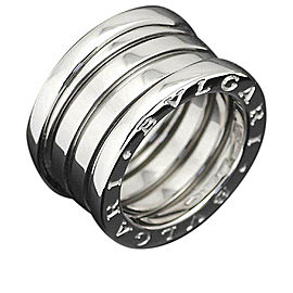 Bulgari B. Zero 1 18K White Gold Ring Size 4.5