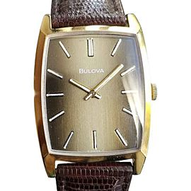 Bulova Vintage 34mm Mens Watch 1970s