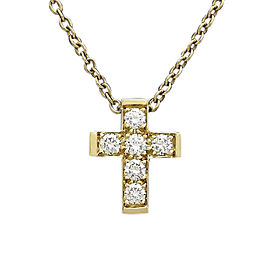 Van Cleef & Arpels Croature 18K Yellow Gold with 0.27ctw Diamond Pendant Necklace