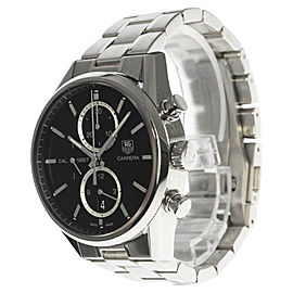Tag Heuer Carrera CAR2110-0 Stainless Steel Automatic 41mm Mens Watch