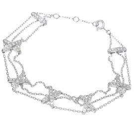 Chaumet Liens 18K White Gold with Diamond Bracelet