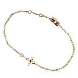 Louis Vuitton Monogram Idylle 18K Rose Gold with Diamond Bracelet