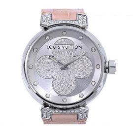 Louis Vuitton Tambour Forever Q131P Womens Watch