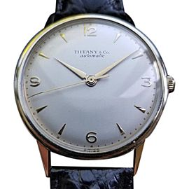 Tiffany & Co. 5834 Vintage 34mm Mens Watch