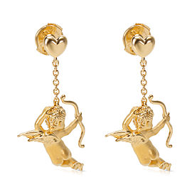 Carrera Y Carrera 18K Yellow Gold Angelitos Drop Earrings