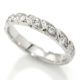 Chaumet Torsade 950 Platinum with Diamond Ring