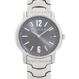Bulgari Solotempo ST35S 35mm Mens Watch