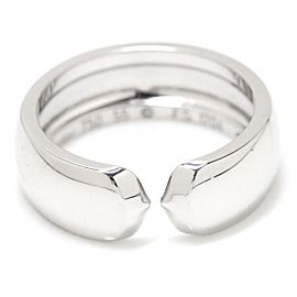 Cartier 18K White Gold Ring Size 7.25