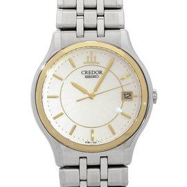 Seiko Credor GCAZ010 8J86-7A00 34mm Mens Watch