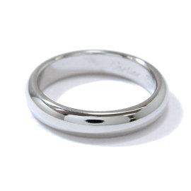 Cartier 950 Platinum Classic Ring Size 3.75