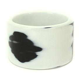 Hermes Plastic Monotone Bangle Bracelet