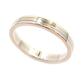 Cartier Trinity 750 Yellow, White and Rose Gold Ring Size 10