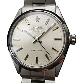 Rolex Air King Oyster Perpetual 5500 Vintage 34mm Mens Watch