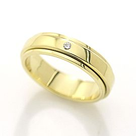 Piaget Possession 18k Yellow Gold Diamond Ring Size 3.75