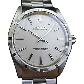 Rolex Oyster Perpetual 1007 Vintage 34mm Unisex Watch