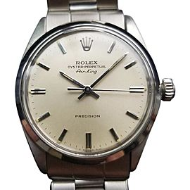 Rolex Oyster Precision Air King 5500 Vintage 34mm Mens Watch