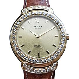 Rolex Cellini 6623 Vintage 37mm Mens Watch