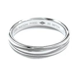 Louis Vuitton 950 Platinum Alliance Ring Size 5.5