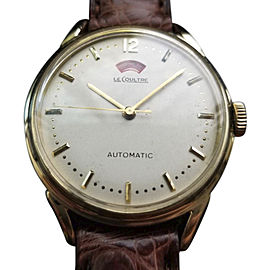 LeCoultre Bumper Vintage 34mm Mens Watch