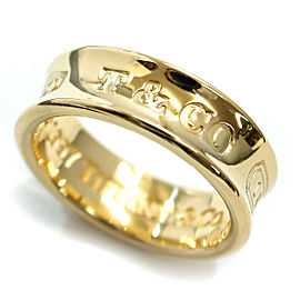 Tiffany & Co. 1837 18K Yellow Gold Ring Size 5