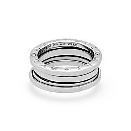 Bulgari B.zero1 18K White Gold Ring Size 7.5