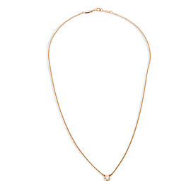 Tiffany & Co. Elsa Peretti 18K Rose Gold with 0.10ct Diamond Necklace