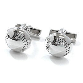 Louis Vuitton 925 Sterling Silver Button du Manchette Crew Cufflinks
