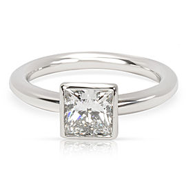 Tiffany & Co. Platinum with 1.04ct Diamond Engagement Ring Size 5.75