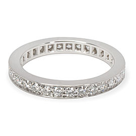 Cartier Wedding Ring Platinum with 0.58ct Diamond Size 4.5
