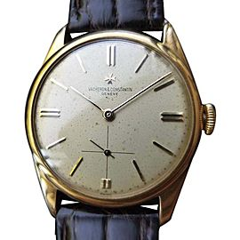 Vacheron Constantin Dress 4066 Vintage 33mm Mens Watch
