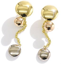 Cartier Trinity Earrings 18K Yellow, White & Rose Gold