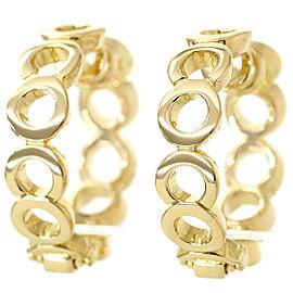 Chanel 18K Yellow Gold Earrings