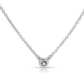 Tiffany & Co. Elsa Peretti Tanzanite Color By The Yard Necklace