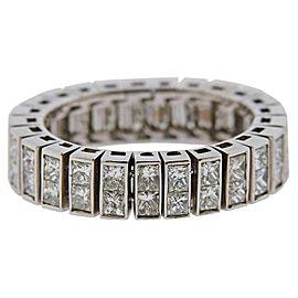 Gold Diamond Wedding Eternity Band Ring