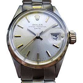 Rolex Oyster Perpetual Date 6516 Vintage 25mm Womens Watch