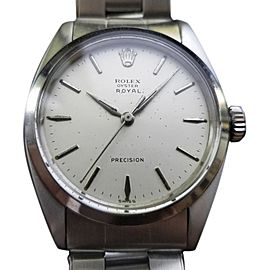Rolex Royal Precision 6426 Vintage 34mm Mens Watch