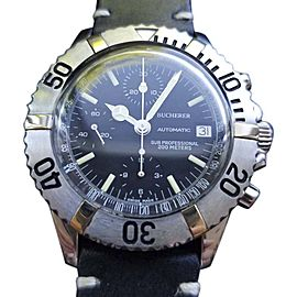 Bucherer Sub Professional Vintage 40mm Mens Watch