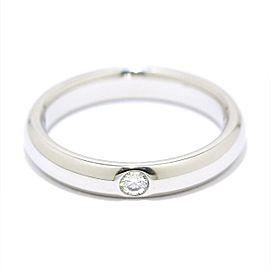 Harry Winston Platinum Diamond Ring Size 3.5