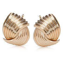 Tiffany & Co. 14K Yellow Gold Vintage Earrings