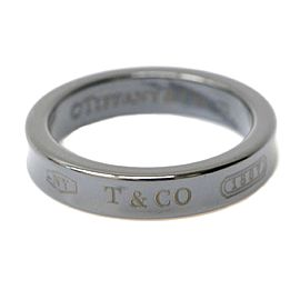 Tiffany & Co. 1837 Titanium Band Ring Size 6