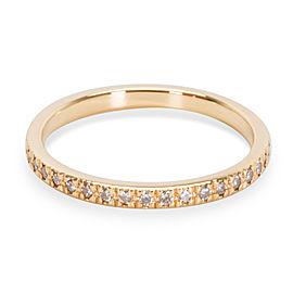 Tiffany & Co. Novo 18K Yellow Gold Diamond Wedding Ring Size 7.75