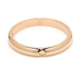 Cartier Classic Ring 18K Rose Gold Diamond Size 3.75