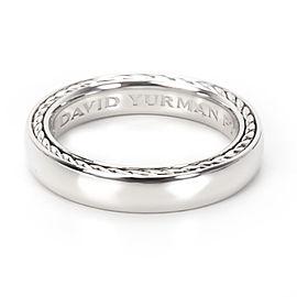 David Yurman Streamline Platinum Ring Size 7