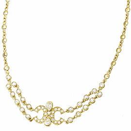 Cartier Necklace 18K Yellow Gold Diamond