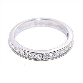 Cartier Ring Platinum Diamond Size 3.75