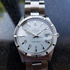 Rolex Oyster Perpetual 15010 Vintage 34mm Mens Watch