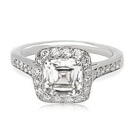 Tiffany & Co. Legacy Platinum Diamond Engagement Ring Size 4.5